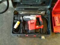 Milwaukee 110v SDS Max Breaker in Good condition