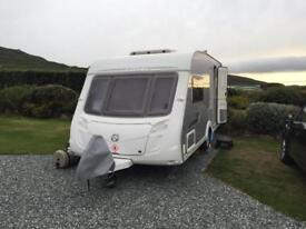 2008 SWIFT CONQUEROR 480, 2 berth touring caravan