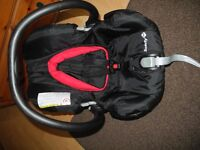 Black car seat for sale