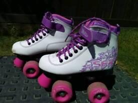 Size 11 girls roller skates