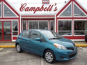 2012 Toyota Yaris LE AIR!! CRUISE!! 5SPD GAS SAVER!! POWER WINDO
