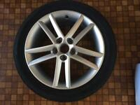 Seat Leon FR Alloy Wheel and Tyre