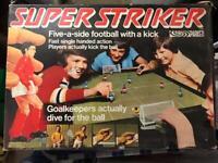 Super striker football game collectible