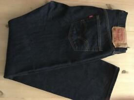 Levi's 501's W32 L32 In as new condition
