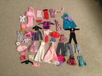 Dolls clothes - to fit 'Barbie' size doll