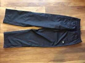 Men's Dunlop Tracksuit Bottoms with Waterproof style finish in small
