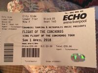 Flight of the Conchords Ticket Liverpool Monday 25th June 2018