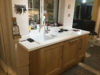 Carron kitchen sink and worktops