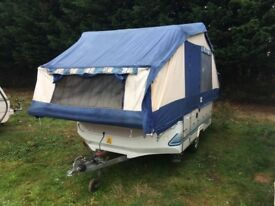 CONWAY TRAILER TENT 6 BERTH 2000 YEAR WITH AWNING