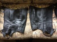 Tredstep Deluxe leather half chaps