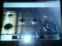 6 burner gas hob,in very good condition as not used much,its all packed up & ready to be picked up