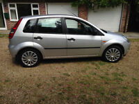 SUPERB 2006 FORD FIESTA STYLE 5 DOOR HATCHBACK, 1242CC ENGINE, LOW MILAGE, LONG MOT.