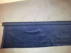 Navy velvet fabric