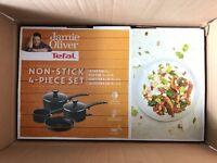 BRAND NEW!!! Jamie Oliver Tefal 4-Piece Set