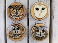 Hand Painted Acrylic Wooden Gifts