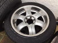 """Tyres with Alloy wheels 20"""" Toyota LAND CRUISER HILUX or any other"""