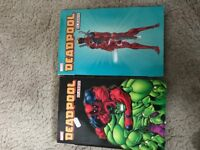 Dead pool soft back Marvel comic books