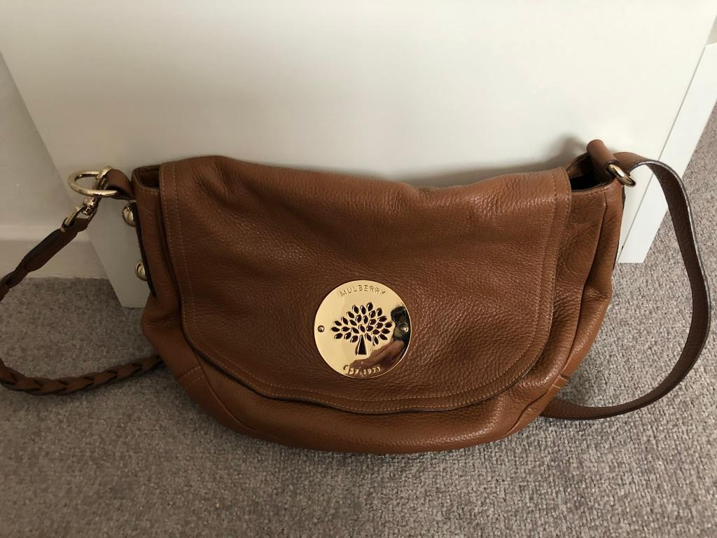 3f1257da56aa Mulberry Daria Oak Satchel genuine