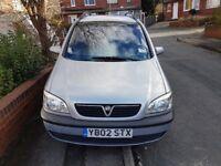 Vauxhall Zafira 2.0 DTI 2002 (7 seat's)