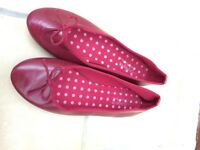 Cherry woman pump shoes size 6