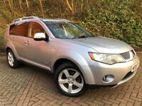 MITSUBISHI OUTLANDER 2.0 DiD WARRIOR**4x4**7 SEATER**FULL LEATHERS**XENONS