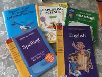Selection of school books for sale