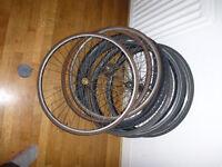 Bike Wheel and tyre joblot