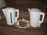 Two White Haden 1.7 Litre Automatic Electric Kettles - £6.00 each