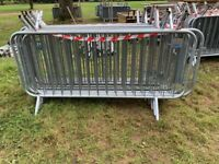 Pre owned Metal Crowd Safety Control Pedestrian Fencing Barriers