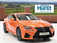 Lexus Rc F V8 (orange) 2017-01-31