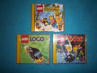 3 x Lego PC Games IP1