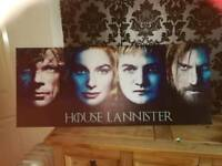 Game of thrones large canvas