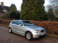 2004 BMW 116i SE SILVER NATIONWIDE DELIVERY WARRANTY CARD FACILITY AVAILABLE