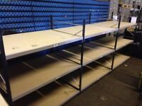 LINK industrial longspan shelving 2.1 meters high ( pallet racking , storage )