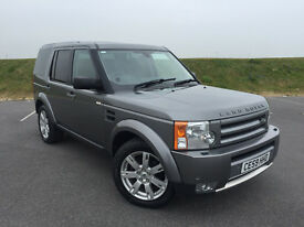 LOW MILEAGE 2009 59 LANDROVER DISCOVEY 3 2.7 GS 7 SEATER WITH FULL SERVICE HISTORY AND LONG MOT!