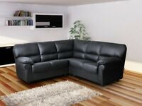 Brand New CANDY Corner Sofa or 3+2 Sofa Set Fabric or Faux Leather