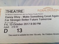 DANNY BHOY-make something great again for stronger better future tomorrow together.