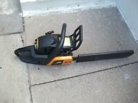 mc culloch chain saw perfect condition like new been in dads garage