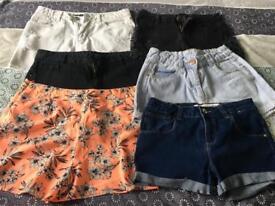 Girls shorts size 12-13 years