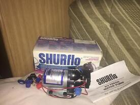 Shurflo Water Pump for caravan