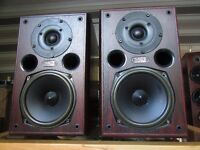 ACOUSTIC ENERGY EA-200 SPEAKERS 120 WATTS GLASGOW COLLECTION ONLY
