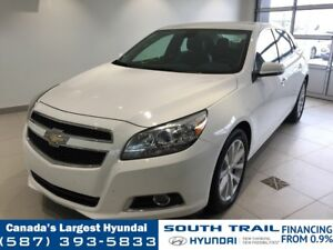 2013 Chevrolet Malibu LT - ONE OWNER