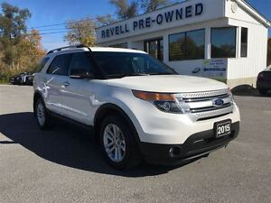 2015 Ford Explorer XLT 4WD...1-owner trade, Navigation, Alloys,