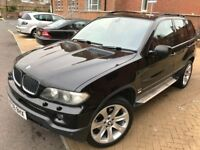 BMW X5 2006 SPORT ** 3.0 DIESEL ** NAVIGATION ** AUTOMATIC ** 12 MONTH MOT ** 2 KEYS ** FULL SERVICE