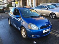 TOYOTA YARIS 1.5 VTI T SPORT 2002 3 DOOR LONG MOT CLEAN CAR GOOD MILEAGE HPI CLEAR