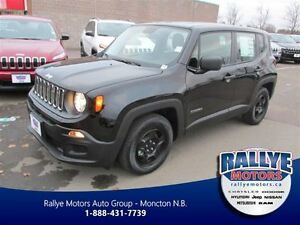 2015 Jeep Renegade Sport 4X4 Black 1 Left In stock
