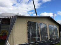 abby aventura 340 6 berth caravan