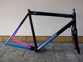 Engineered Donder road bike frame 56.5 cm aluminium carbon