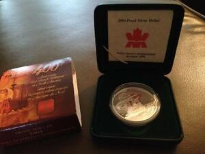2004 Proof Silver Dollar Canada