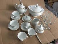 Princess house tea set by Ingrid S Lara